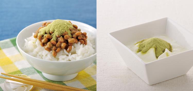 オクラ納豆、オクラヨーグルト